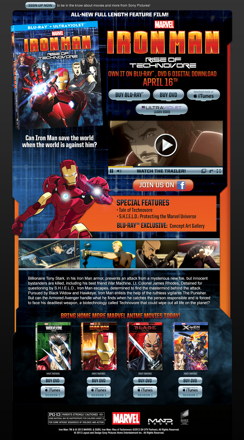 Iron Man Rise Of Technovore  Movies amp TV on Google Play